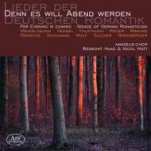 Amadeus-Chor - Denn es will Abend werden, CD