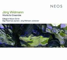 Jörg Widmann (geb. 1973): Werke für Ensemble, CD