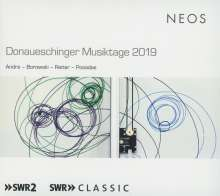 Donaueschinger Musiktage 2019, Super Audio CD