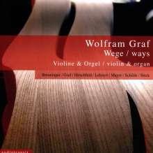 Wolfram Graf (geb. 1965): Werke für Violine & Orgel, CD