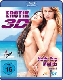 Erotik 3D - Nude Topmodels Vol.2 (3D Blu-ray), Blu-ray Disc
