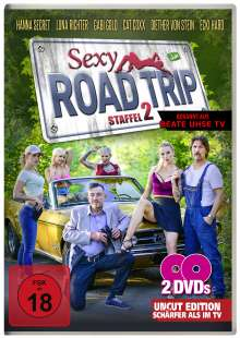Sexy Road Trip 2, 2 DVDs