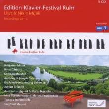 Edition Klavier-Festival Ruhr Vol.27 - Liszt & Neue Musik, 3 CDs