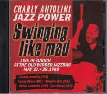 Charly Antolini (geb. 1937): Swinging Like Mad - Live In Zürich, CD