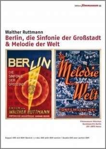 Berlin, die Sinfonie einer Großstadt + Melodie der Welt, 2 DVDs
