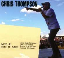 Chris Thompson: Live At Rock Of Ages, 1 CD und 1 DVD