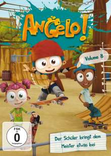 Angelo! Vol. 8, DVD