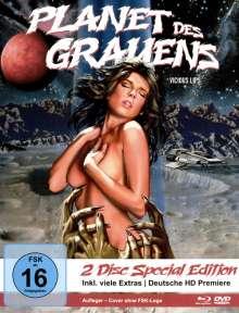 Planet des Grauens (Blu-ray & DVD im Mediabook), 1 Blu-ray Disc und 1 DVD