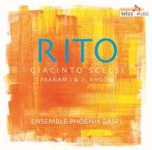 "Giacinto Scelsi (1905-1988): Kammermusik ""Rito"", CD"