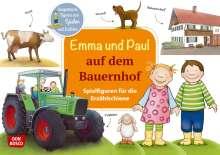 Monika Lehner: Emma und Paul auf dem Bauernhof. Spielfiguren für die Erzählschiene, 1 Buch und 1 Diverse