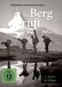 Der Berg ruft (18 Filme auf 5 DVDs), 5 DVDs