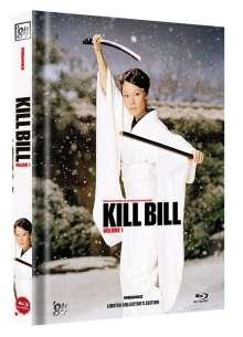 Kill Bill: Volume 1 - Mediabook - Limited Collector's Edition auf 300 Stück (Cover D), Blu-ray Disc