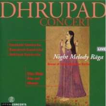 The Gundecha Brothers: Dhrupad Concert: Night Melody Raga, CD