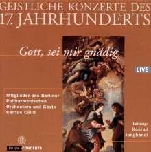 Geistliche Konzerte des 17. Jahrhunderts, CD