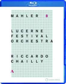 Gustav Mahler (1860-1911): Symphonie Nr.8, Blu-ray Disc