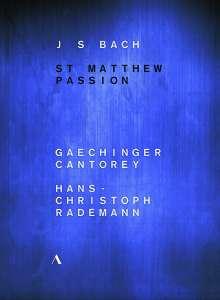 Johann Sebastian Bach (1685-1750): Matthäus-Passion BWV 244 (Ballettaufführung aus Ludwigsburg), 2 DVDs