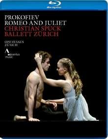Zürich Ballet - Romeo & Julia (Musik: Sergei Prokofieff), Blu-ray Disc