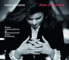 Zlata Chochieva - (re)creations, CD