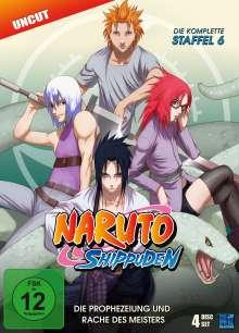 Naruto Shippuden Staffel 6, 4 DVDs