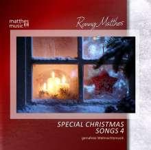 Ronny Matthes: Special Christmas Song Vol.4 - Gemafreie Weihnachtsmusik (Die schönsten Weihnachtslieder: deutsch & englisch gesungen), CD
