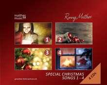 Ronny Matthes: Special Christmas Songs Vol. 1 - 4: Gemafreie Weihnachtsmusik (Die schönsten Weihnachtslieder: deutsch & englisch gesungen), 4 CDs