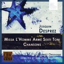 "Josquin Desprez (1440-1521): Missa ""L'homme arme sexti toni"", CD"