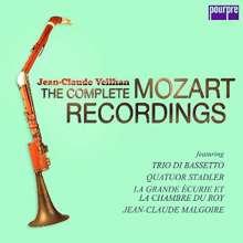 "Wolfgang Amadeus Mozart (1756-1791): Werke mit Klarinette ""Jean Claude Veilhan - The Complete Mozart Recordings"", 5 CDs"