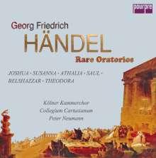 Georg Friedrich Händel (1685-1759): Rare Oratorios (Exklusiv für jpc), 16 CDs