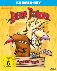 Die Biber Brüder (Komplette Serie) (SD on Blu-ray), 2 Blu-ray Discs