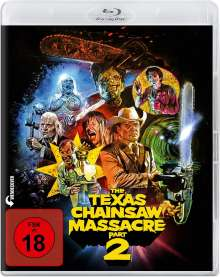 The Texas Chainsaw Massacre 2 (Blu-ray), Blu-ray Disc