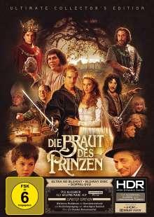 Die Braut des Prinzen (Ultra HD Blu-ray, Blu-ray & DVD im Mediabook), 1 Ultra HD Blu-ray, 1 Blu-ray Disc und 2 DVDs
