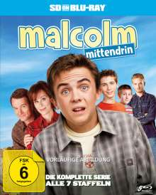 Malcolm Mittendrin (Komplette Serie) (SD on Blu-ray), 5 Blu-ray Discs