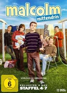 Malcolm Mittendrin Staffel 4-7, 12 DVDs