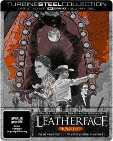 Leatherface (Ultra HD Blu-ray & Blu-ray im Steelbook), 1 Ultra HD Blu-ray und 1 Blu-ray Disc