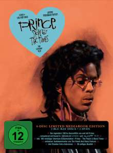 "Prince - Sign ""O"" the Times (Limited Edition) (Blu-ray & DVD im Mediabook), 2 Blu-ray Discs und 2 DVDs"