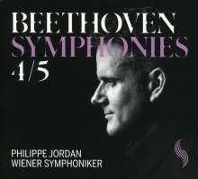 Ludwig van Beethoven (1770-1827): Symphonien Nr.4 & 5, CD