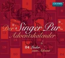Singer Pur  - Adventskalender (24 Lieder zum Advent), CD