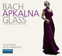 Iveta Apkalna - Bach & Glass, 2 CDs