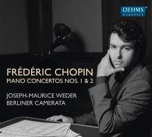 Frederic Chopin (1810-1849): Klavierkonzerte Nr.1 & 2, CD
