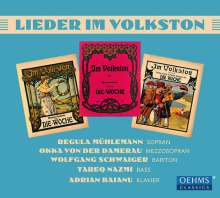 Lieder im Volkston, CD