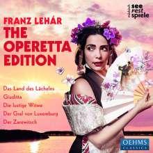 Franz Lehar (1870-1948): The Operetta Edition (Mörbisch Festival), 5 CDs