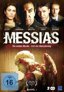 Messias Staffel 1: Die ersten Morde / Zeit der Abrechnung, 2 DVDs