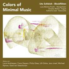 Ute Schleich - Colors of Minimal Music, CD