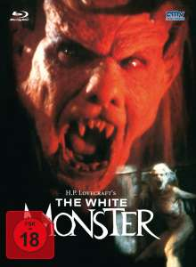 The White Monster (Blu-ray & DVD im Mediabook), 1 Blu-ray Disc und 1 DVD