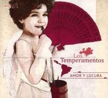 Los Temperamentos - Amor Y Locura, CD