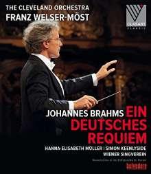 Johannes Brahms (1833-1897): Ein Deutsches Requiem op.45, Blu-ray Disc