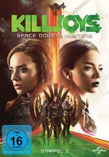 Killjoys - Space Bounty Hunters Staffel 3, 3 DVDs