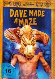 Dave made a Maze, DVD