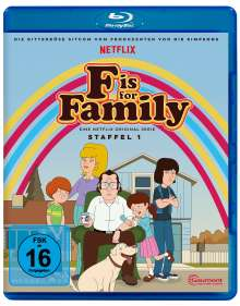 F is for Family Staffel 1 (Blu-ray), Blu-ray Disc
