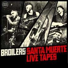 Broilers: Santa Muerte Live Tapes, 2 CDs